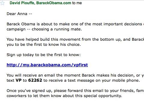 obama campaign 2008 case study